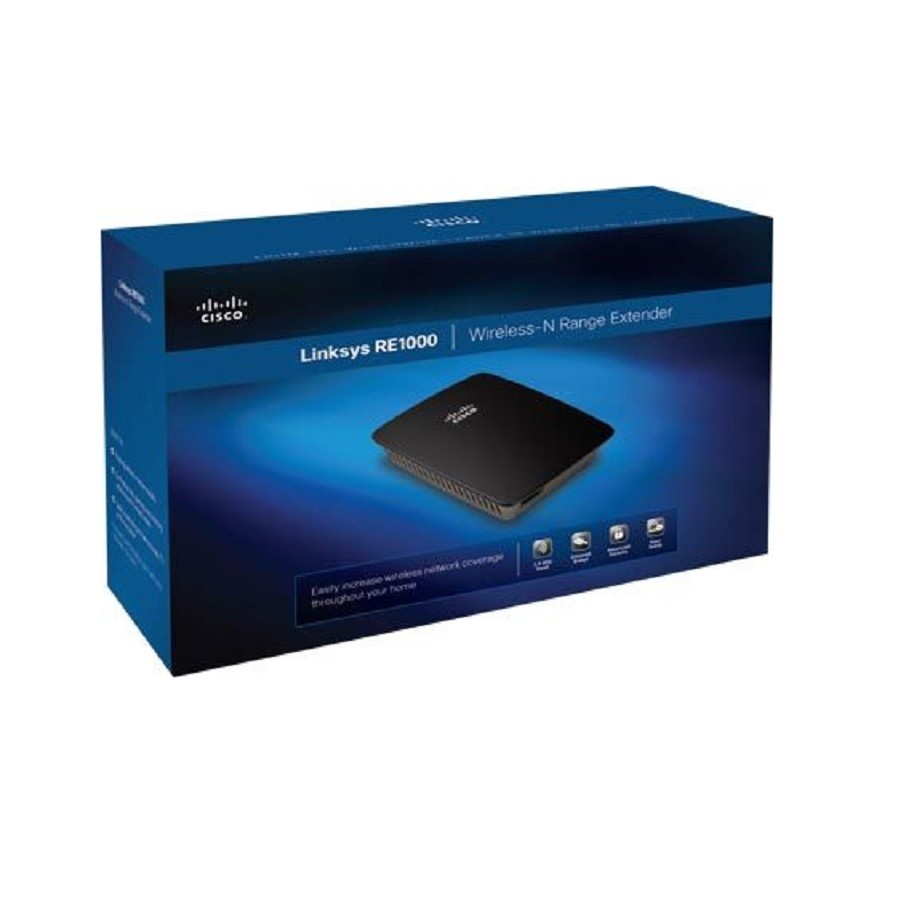 Repetidor Wi-Fi de Sinal Linksys RE1000