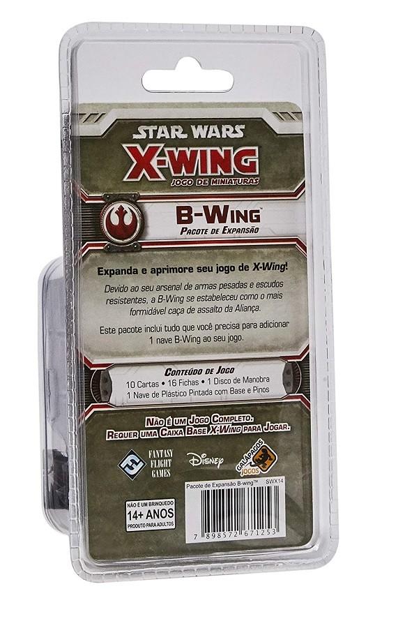 Star Wars X-Wing / B-Wing - Jogo de Miniaturas