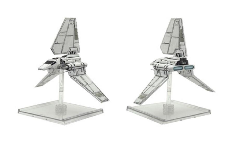 Star Wars X-Wing Shuttle Classe Lambda - Jogo de Miniaturas