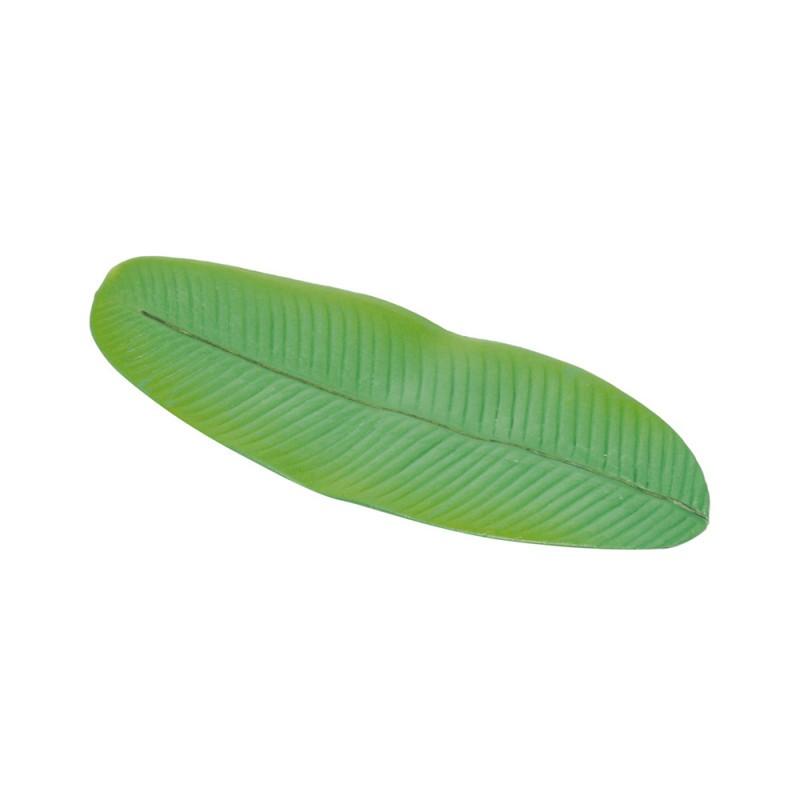 4 Anéis Guardanapos ou Descanso Talher Folha de Bananeira