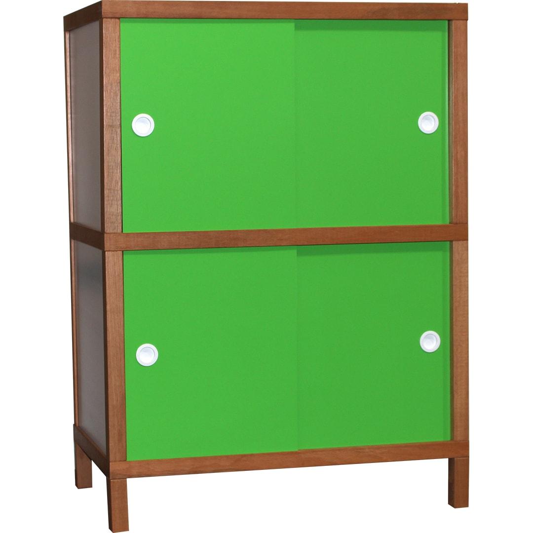 Armário 4 portas - Verde