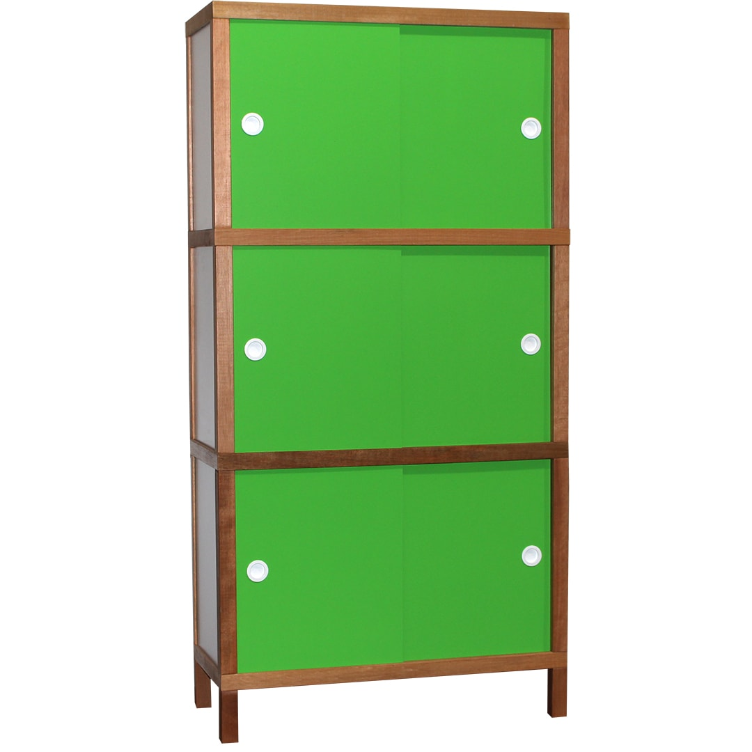 Armário 6 portas - Verde