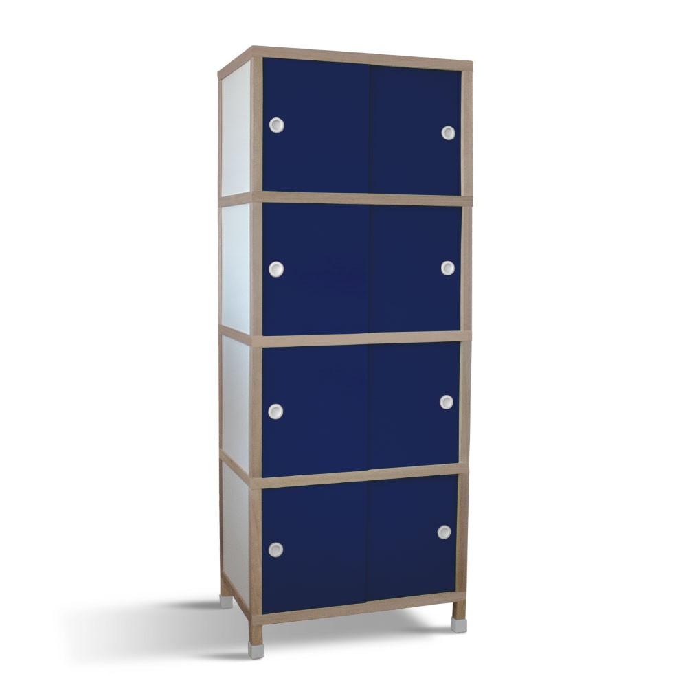 Armário 8 portas - Azul