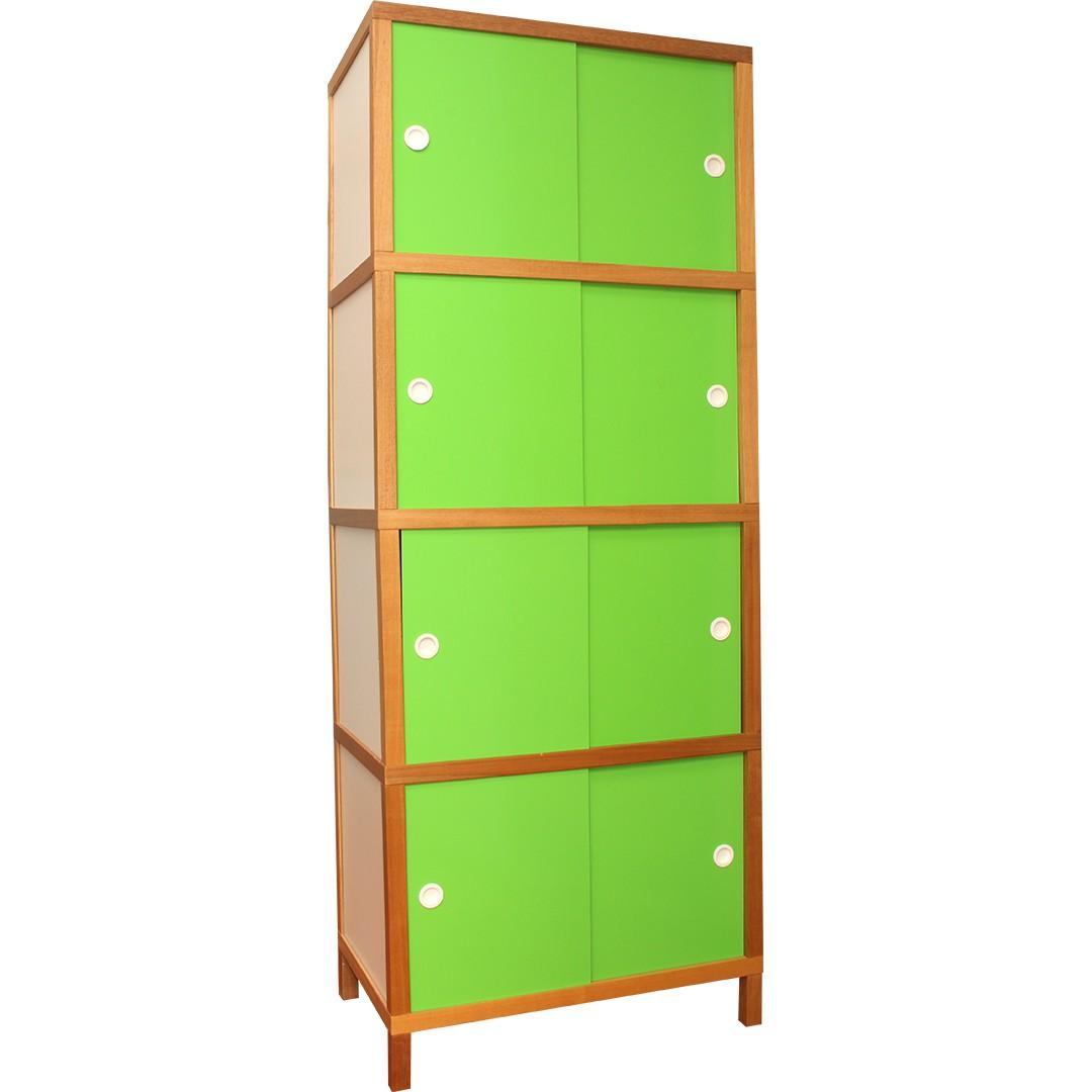 Armário 8 portas - Verde