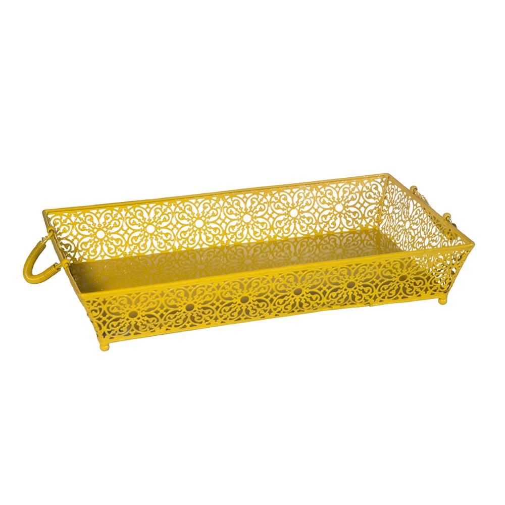 Bandeja Le Fleur-Amarelo