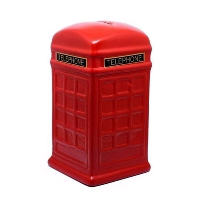 Cofre Cerâmica - Cabine Telefônica Londres