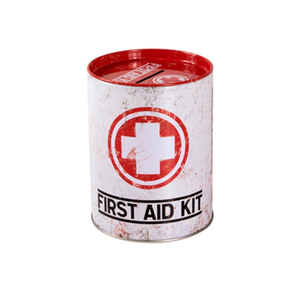 Cofre Lata First Aid 10 cm