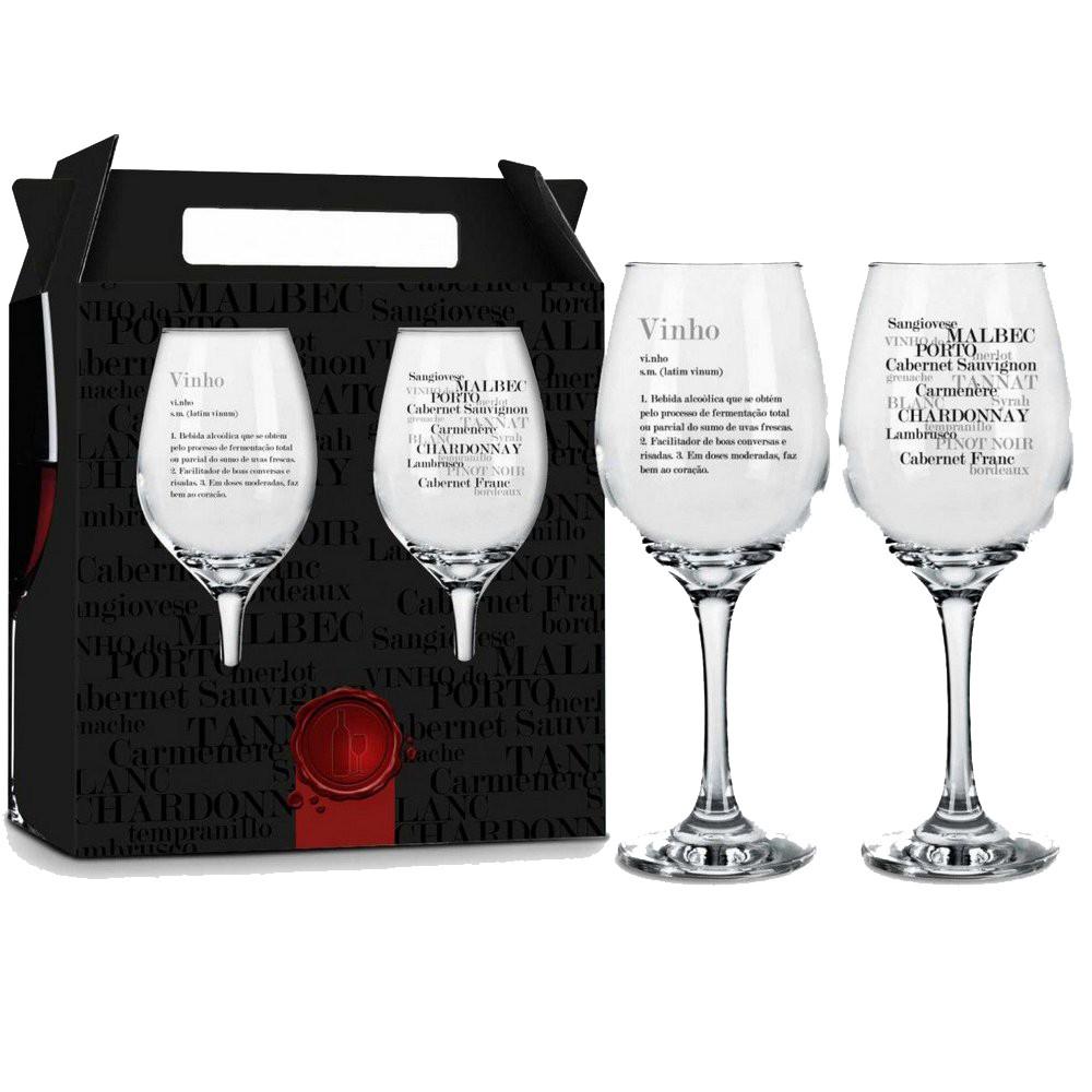 Conjunto 2 Taças de Vinho - Significado do Vinho