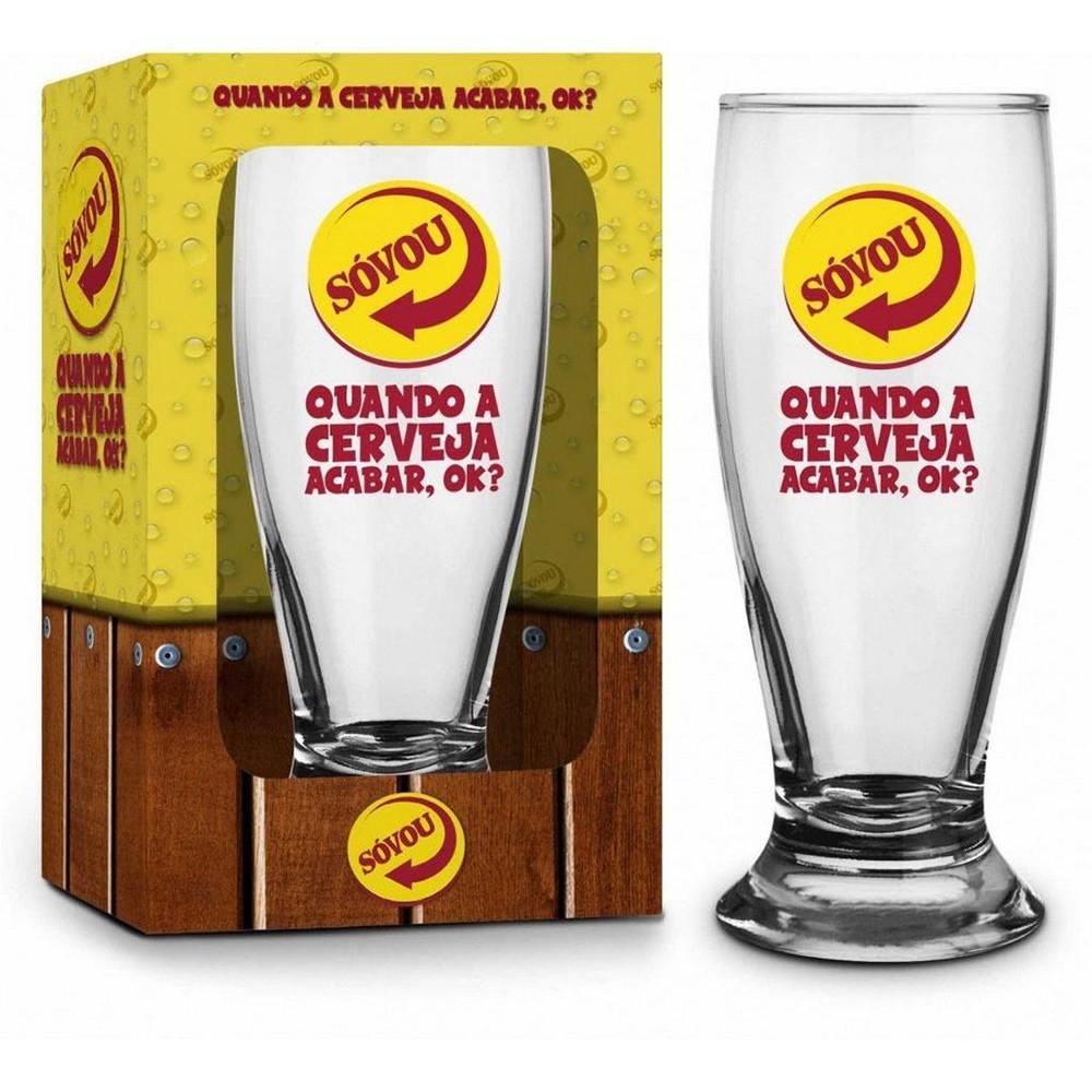 Copo Munich 200 ml - Sátiras Cervejas Só Vou