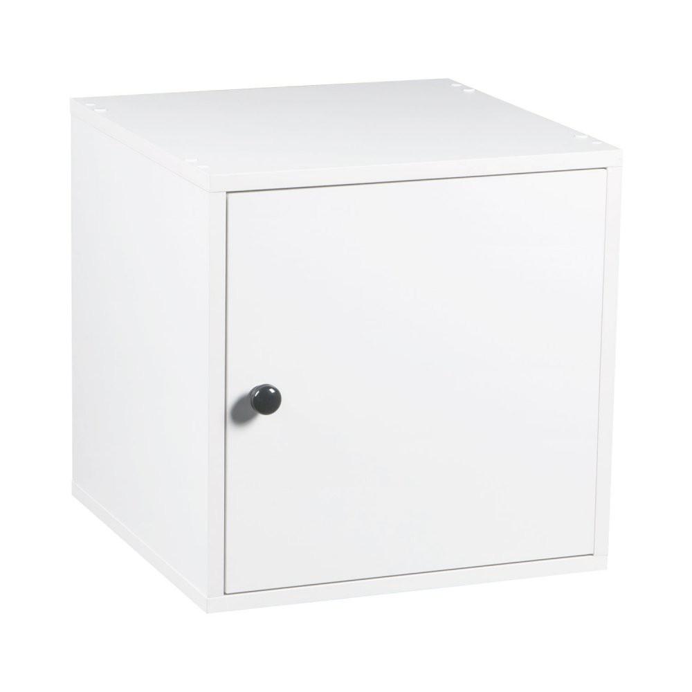Cubo 40 Branco Com Porta