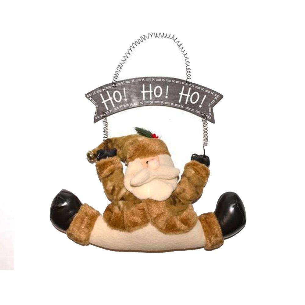 Enfeite para Porta Papai Noel Ho! Ho! Ho!
