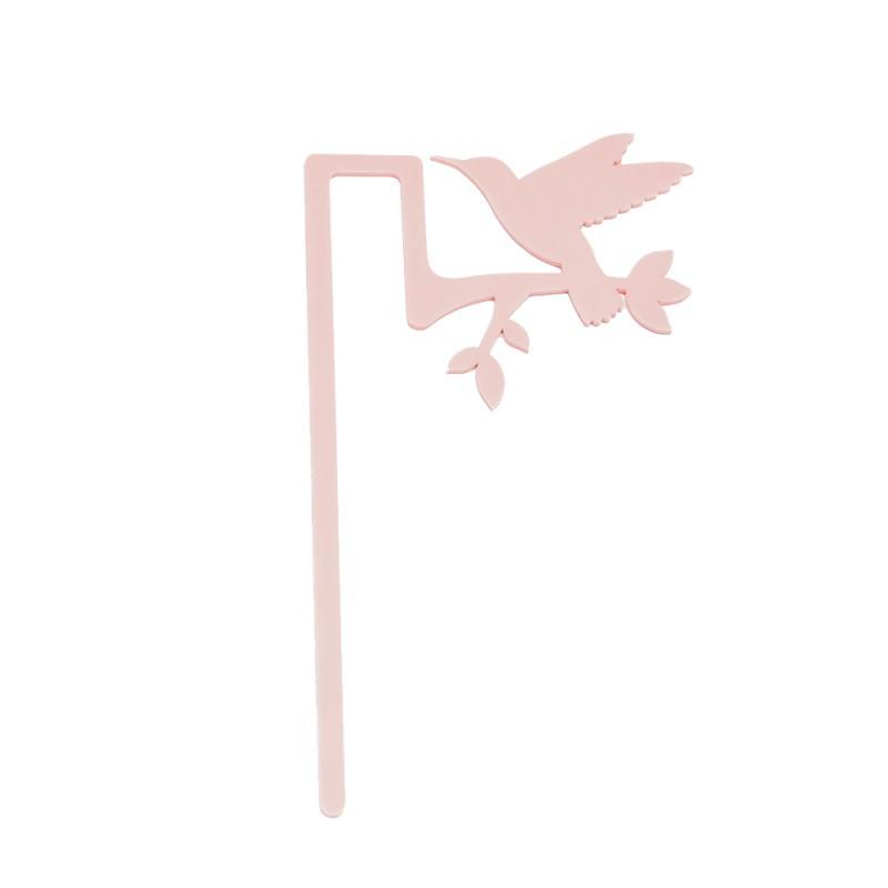 Marcador de Livro Beija-Flor-Rosa