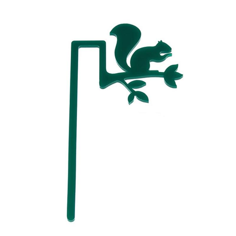 Marcador de Livro Esquilo-Verde