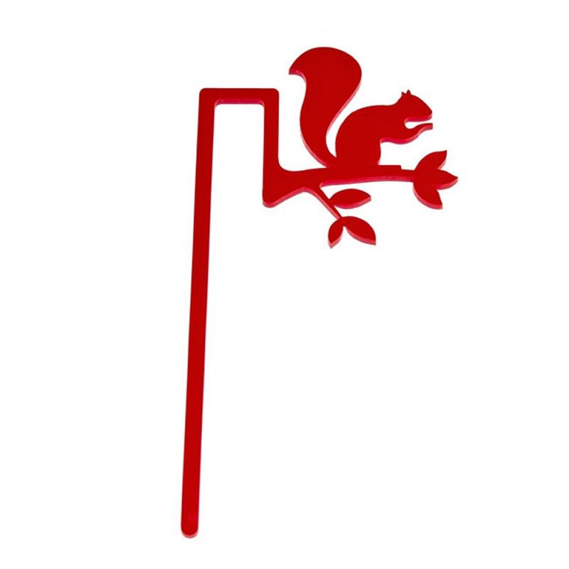 Marcador de Livro Esquilo-Vermelho