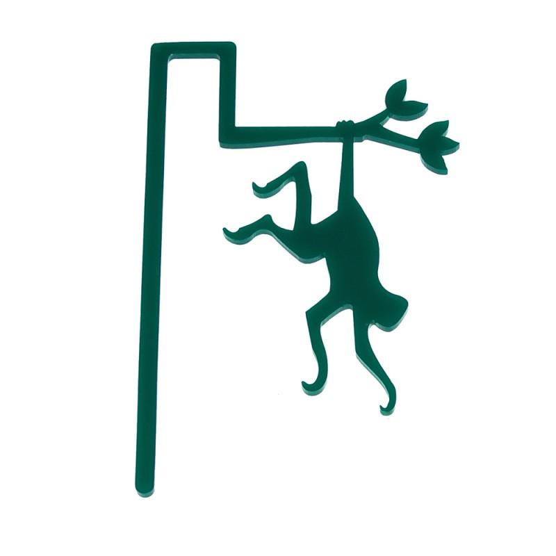 Marcador de Livro Macaco-Verde