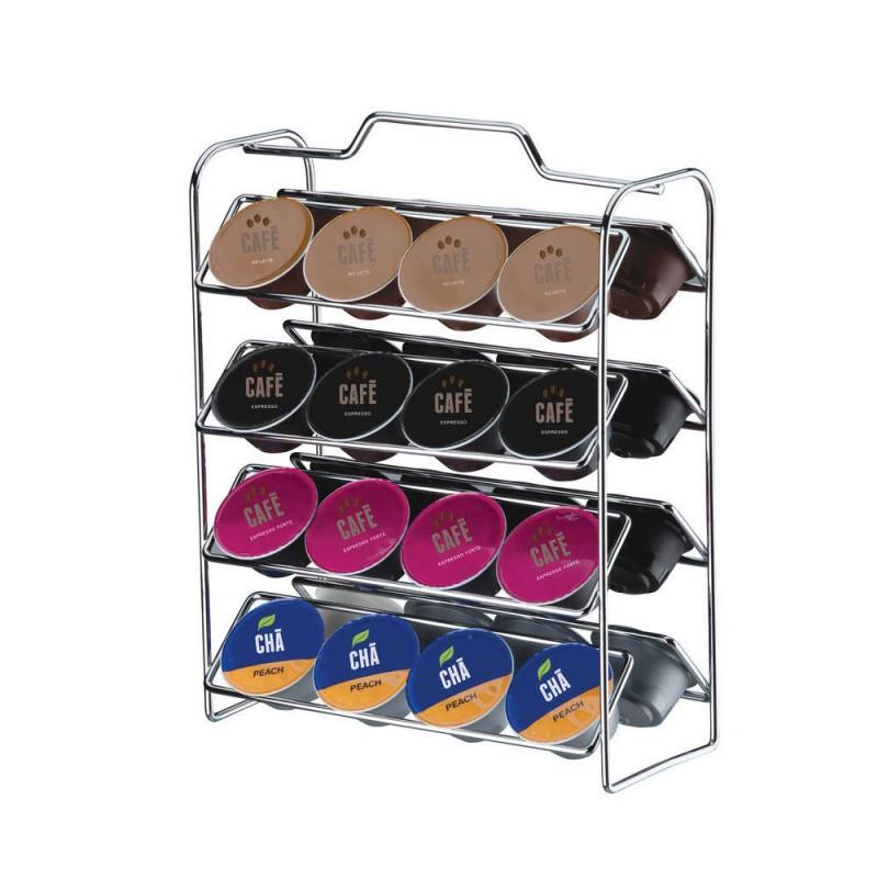 Organizador para 32 cápsulas de café Compatível c/ Dolce Gusto