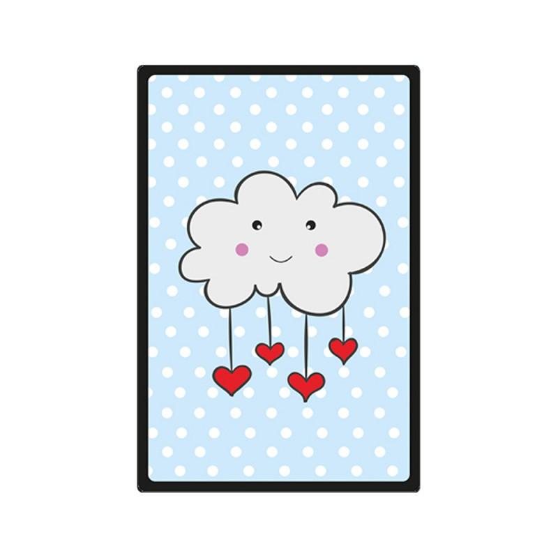 Placa Decorativa Infantil Nuvem