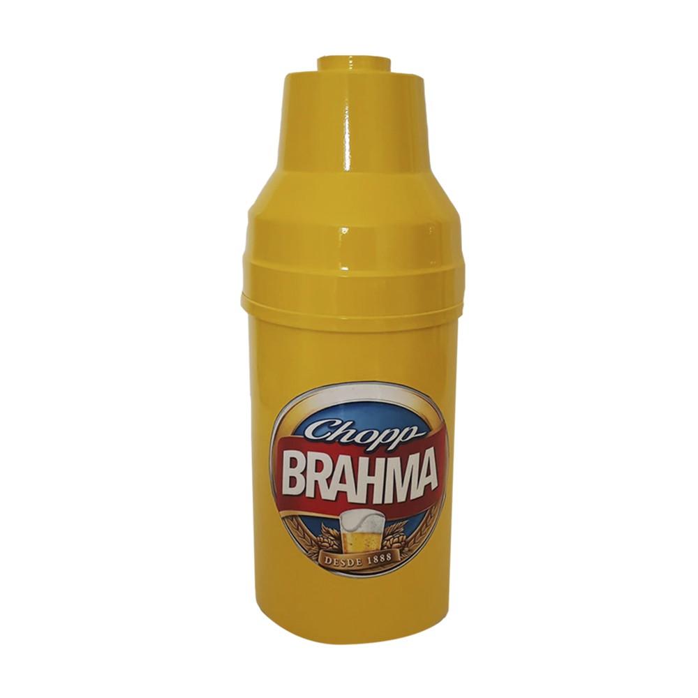 Porta Garrafa  Amarelo Brahma 600 ML