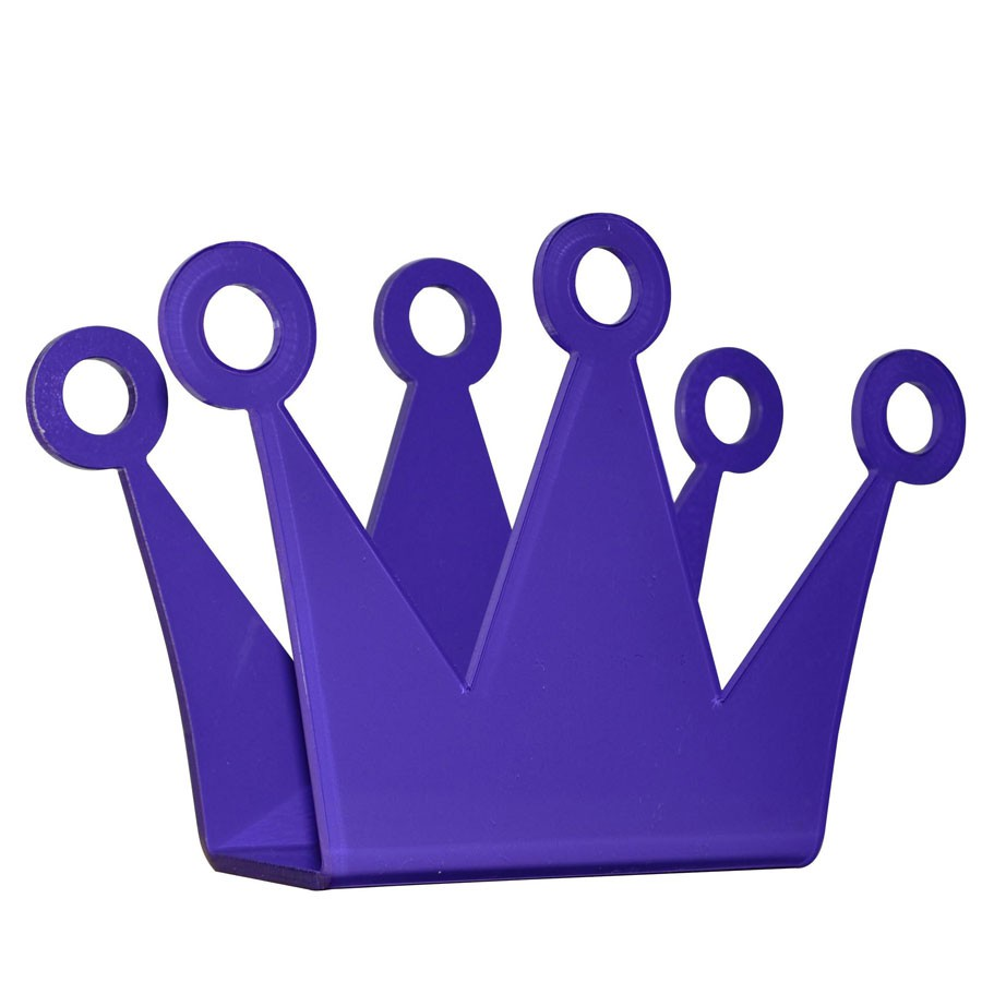 Porta Guardanapo Coroa-Roxo