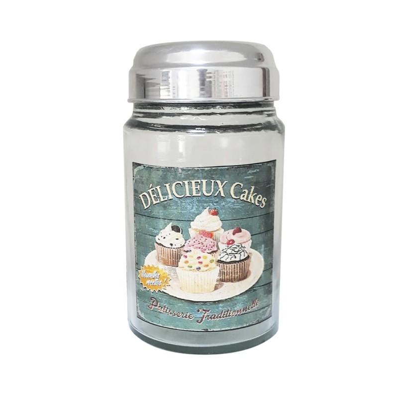 Pote Vidro Délicieux Cakes 1 L