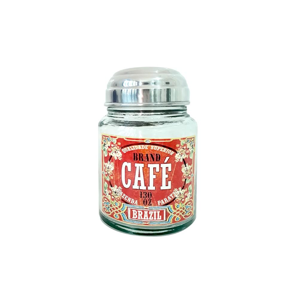 Pote Vidro para Café Brazil 1,3 L