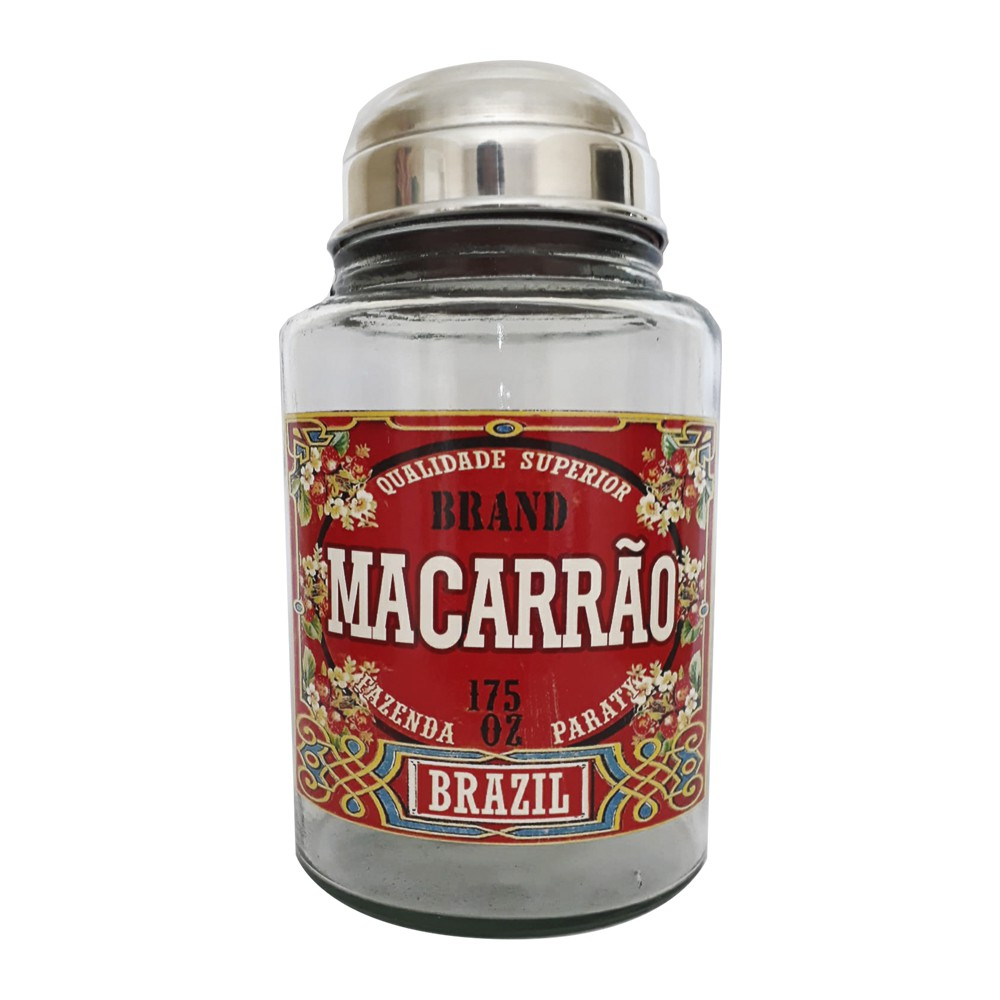 Pote Vidro para Macarrão Brazil 2 L