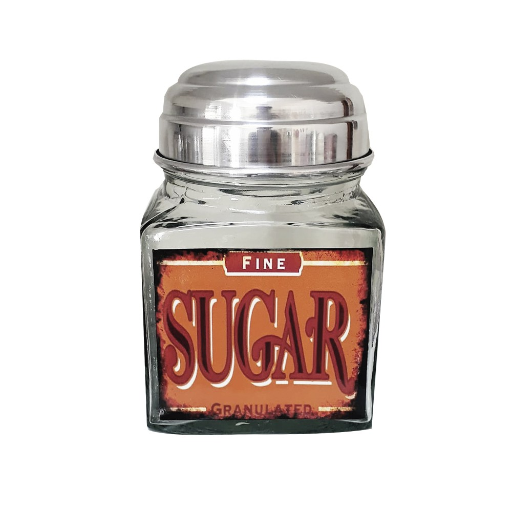 Pote Vidro Sugar Fine 1L