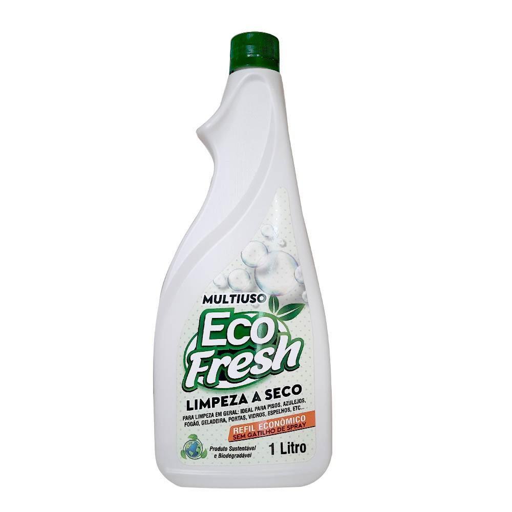 Refil Multiuso Eco fresh Limpeza a Seco Biodegradável e Sustentável 1L