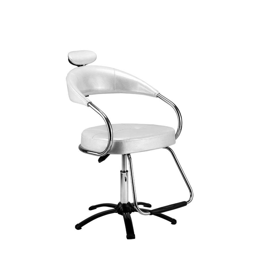 Cadeira Futura Manual Plastificada Branca Dompel