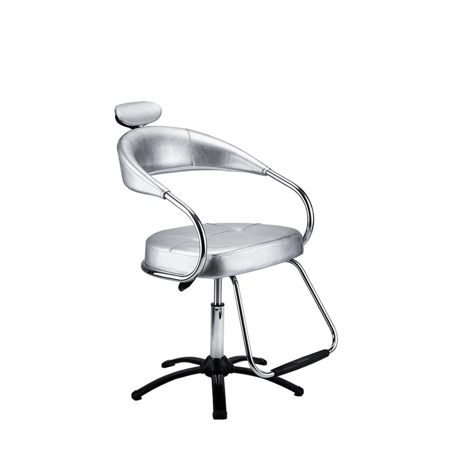 Cadeira Futura Manual  Plastificada Prata Dompel