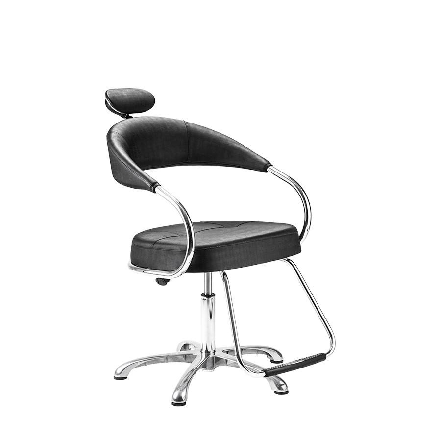 Cadeira Futura Manual Preta Plus  Dompel
