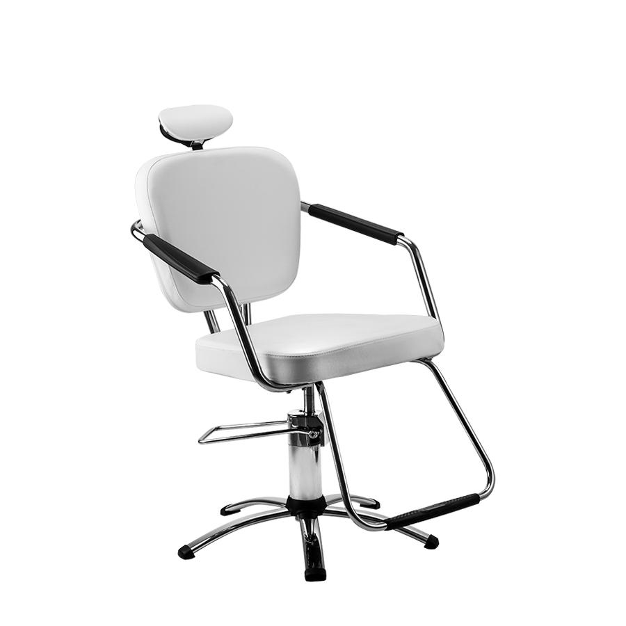 Cadeira Nix Fixa Branca Dompel
