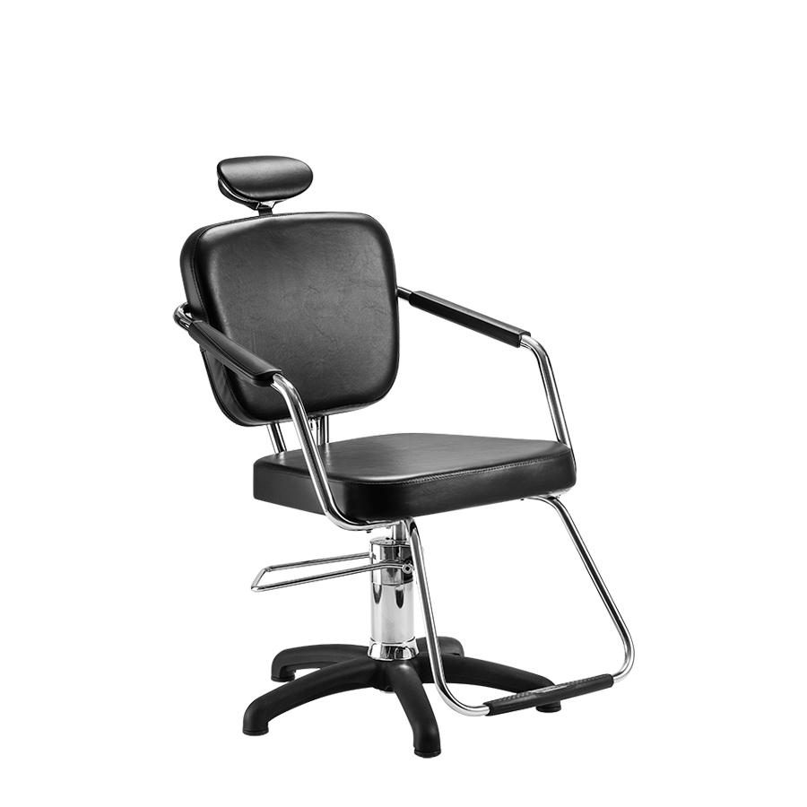 Cadeira Nix Fixa  Preta Dompel