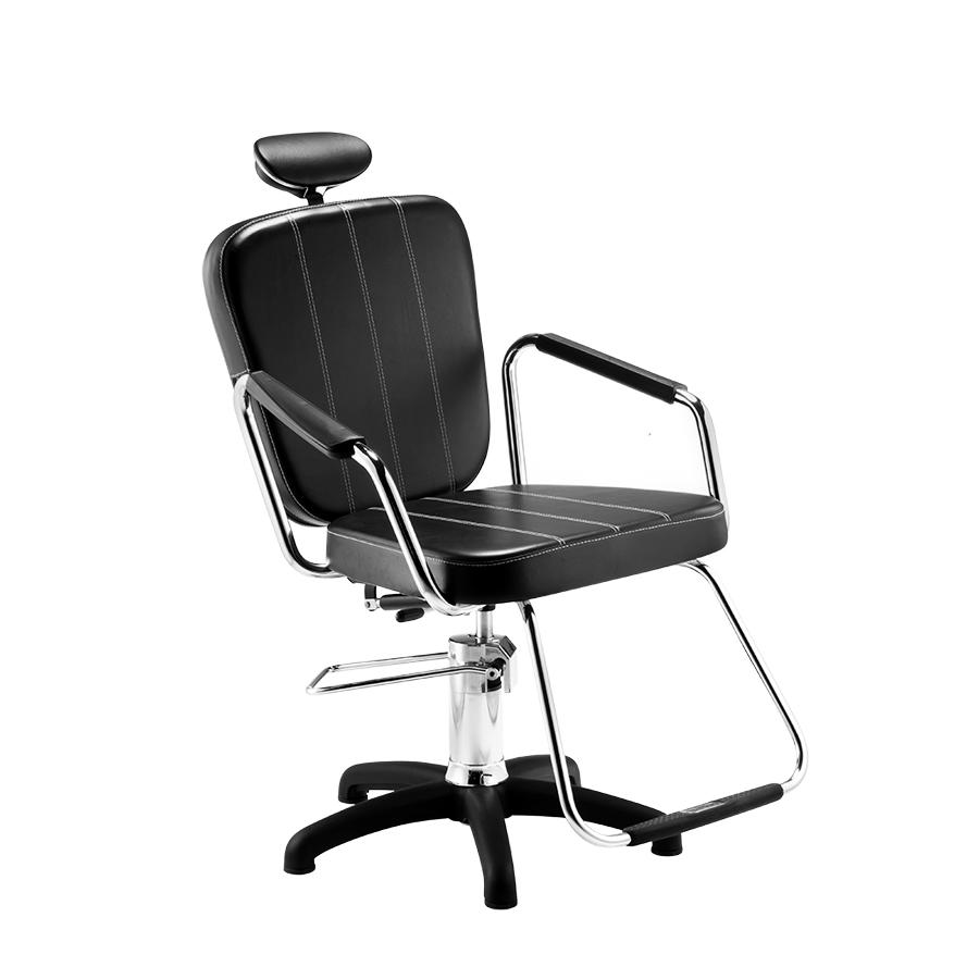 Cadeira Nix Reclinável- Pé Nylon Com Costura  Dompel
