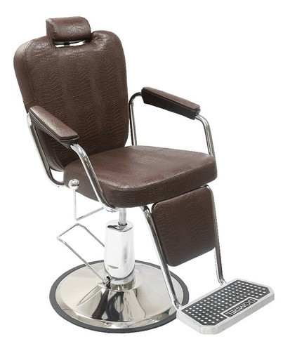 Cadeira Para Barbeiro Texas Wood Dompel
