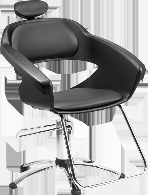 Cadeira Primma Hidráulica - Apoio de pé Aço Tubular
