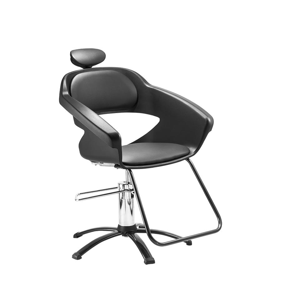 Cadeira Primma Hidráulica Black Dompel