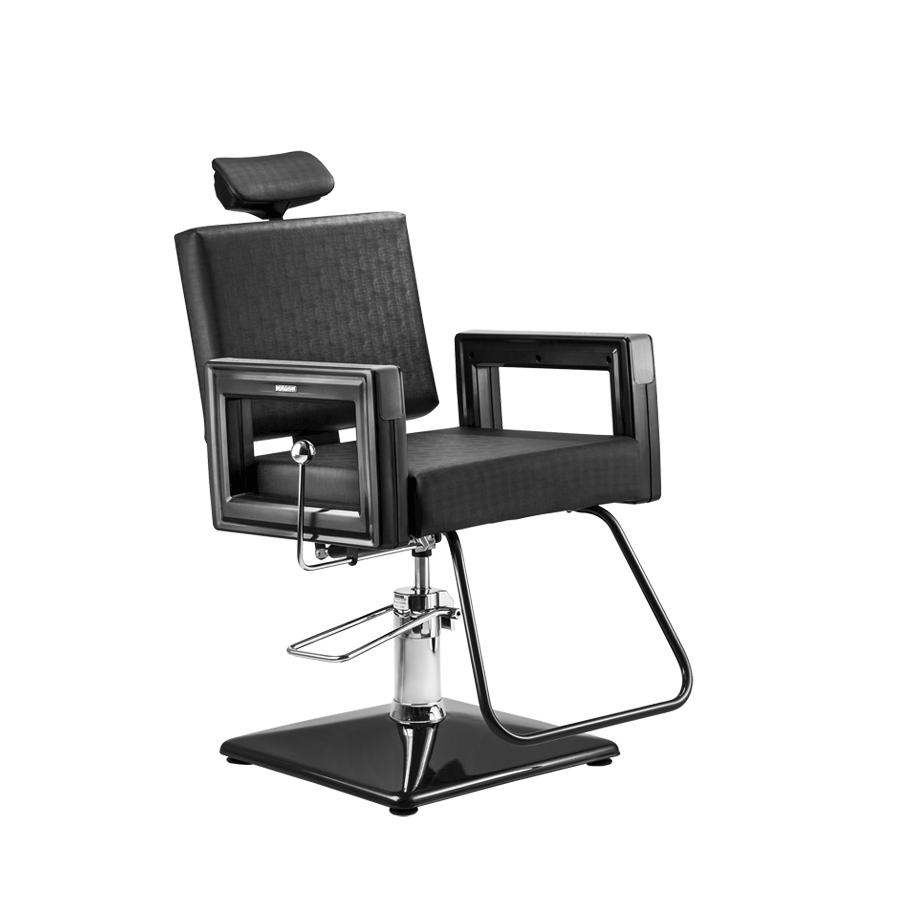 Cadeira Square Reclinável Black Dompel