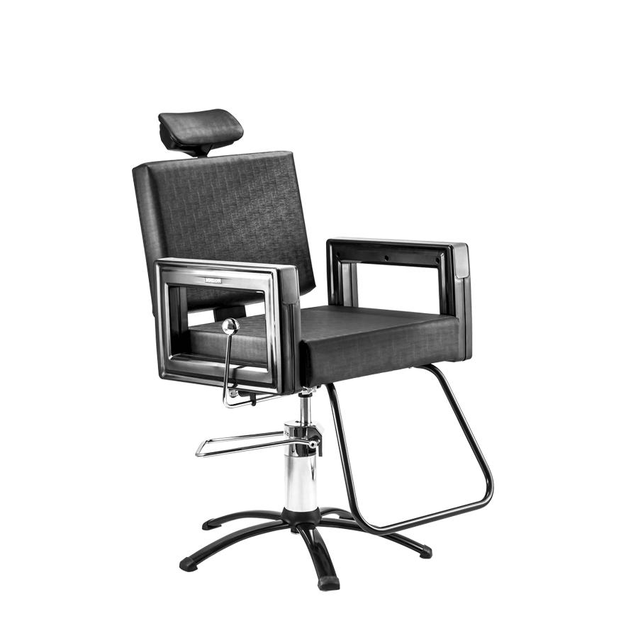 Cadeira Square Reclinável Black