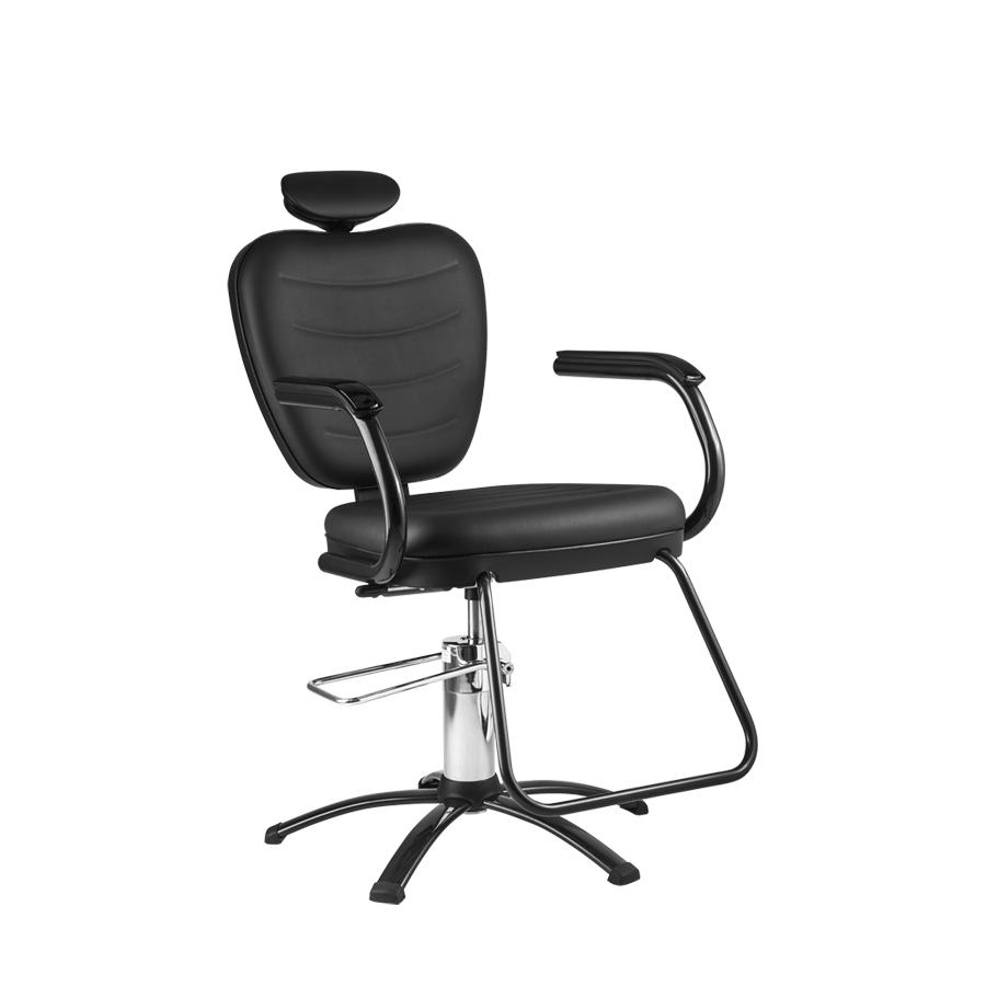 Cadeira Top Black Reclinável  Dompel