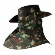 Chapéu Camuflado EB c/ Protetor