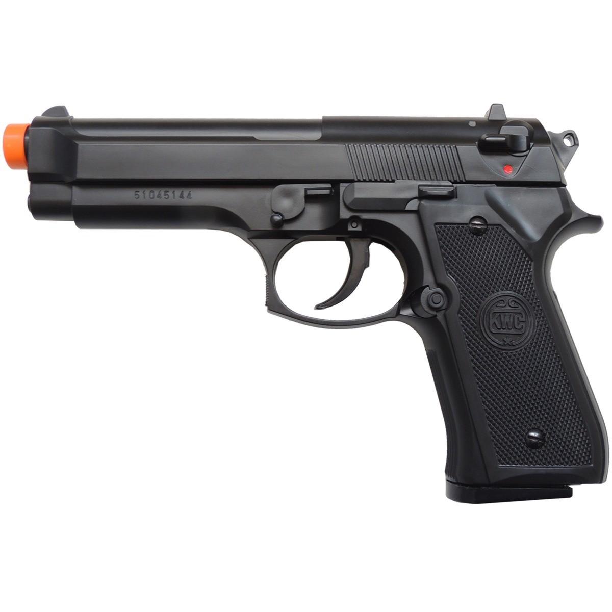 Pistola Airsoft Beretta M92 Black Spring 6mm KWC