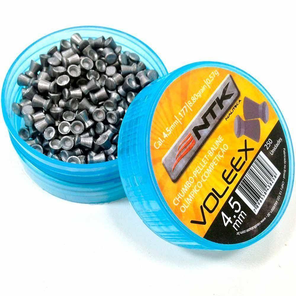 Chumbinho para Carabina NTK Voleex 4.5mm com 250UN