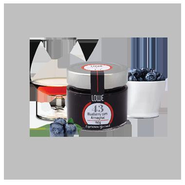 Geleia de Blueberry com Armagnac