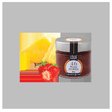 Geleia de Morango com Abacaxi