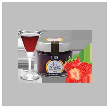 Geleia de Morango com Vinho do Porto