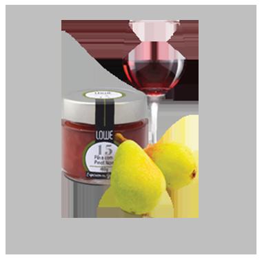 Geleia de Pêra com Pinot Noir