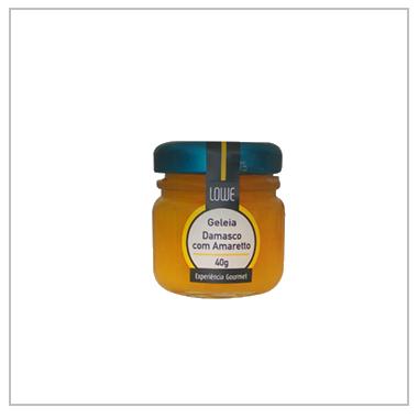 Geleia Mini de Damasco com Amoretto