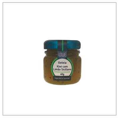Geleia Mini Kiwi com Limão Siciliano