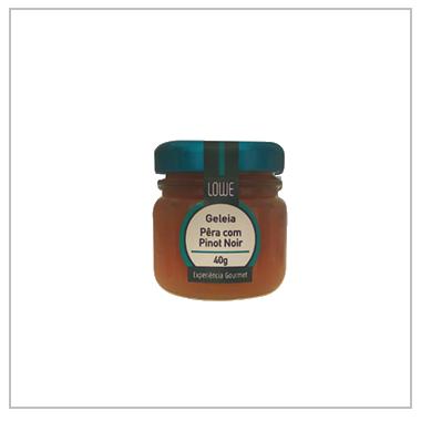 Geleia Mini Pera com Pinot Noir